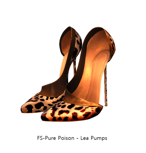 FS-Pure Poison - Lea Pumps [BOXED] - FAMESHED GIFT