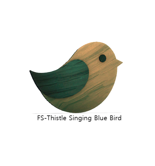 FS-Thistle Singing Blue Bird
