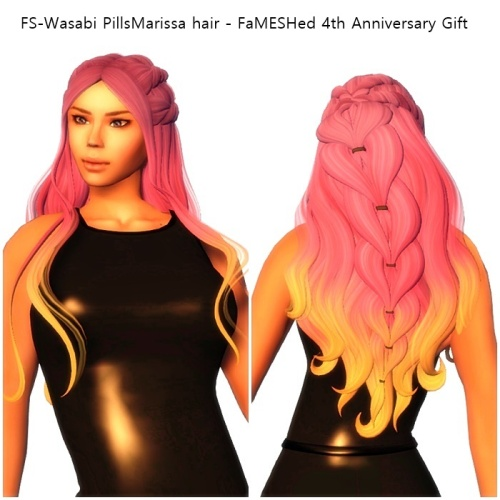 FS-Wasabi PillsMarissa hair - FaMESHed 4th Anniversary Gift
