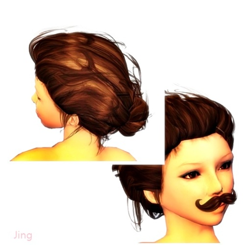 [INK] Mustache 16 Colors + UROS Hair GG Mai 2016