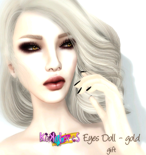 [KoKoLoReS] Eyes Doll gold - GG Mai 2016