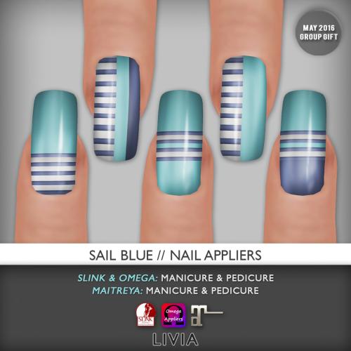 LIVIA__Sail Blue Nail Appliers [May2016 GG]