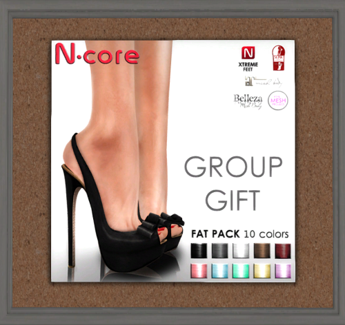 N-core - KAREN Shoe Fatpack GROUP GIFT Mai 2016