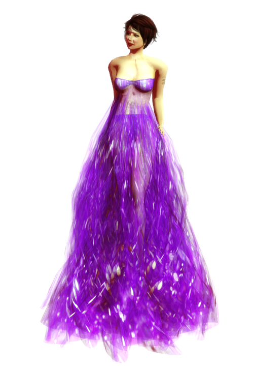 Paris METRO Couture - Purple Rain II - With Appliers (c)1
