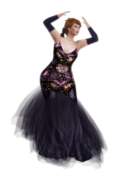PM - Freda Gown in Purple - Group Gift Mai 2016