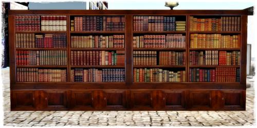 PrimPossible 1 Prim Free BookShelf