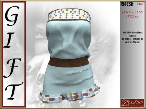 ZULOO_PLACARD-GIFT_-_RMESH_Strapless_Dress
