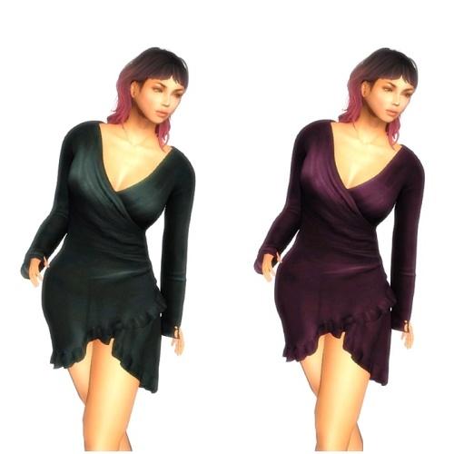 Finale Couture Wrap Dress 2 PK