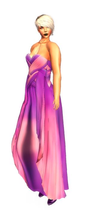 . K E L I N I - Curacao Mesh Dress Casssis