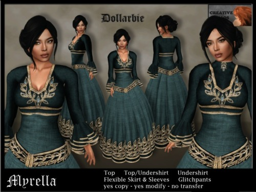MYRELLAteal_Dollarbie