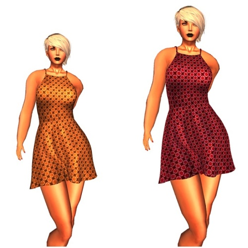 !Soul Mesh Dress - Mini - GG June 2016