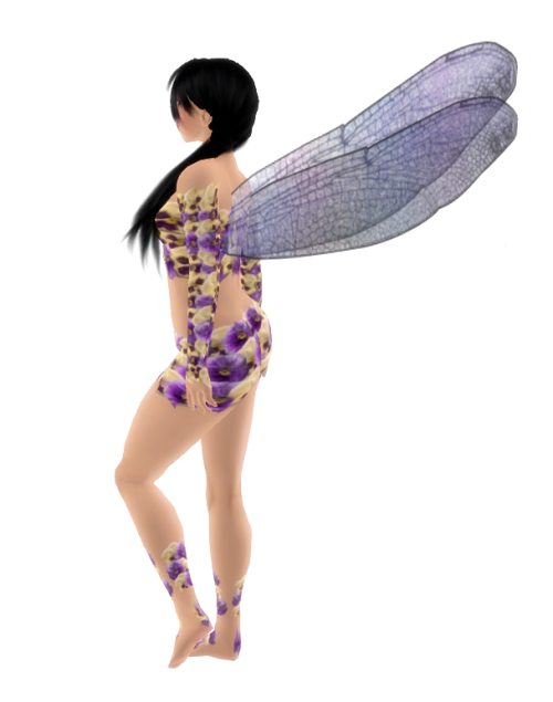 VC - Flower Fairy with Wings2