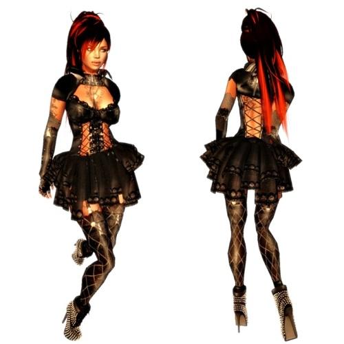 VC - Lulu Gothic Queen - Fullavatar - complete Avatar