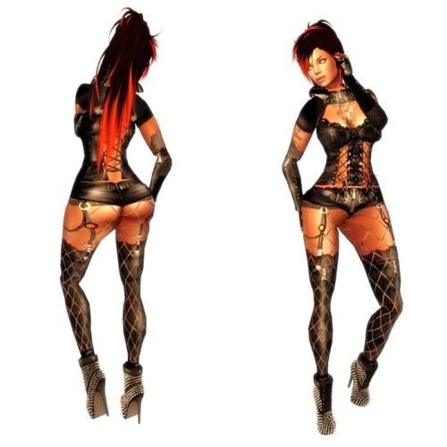 VC - Lulu Gothic Queen - Fullavatar - complete Avatar1