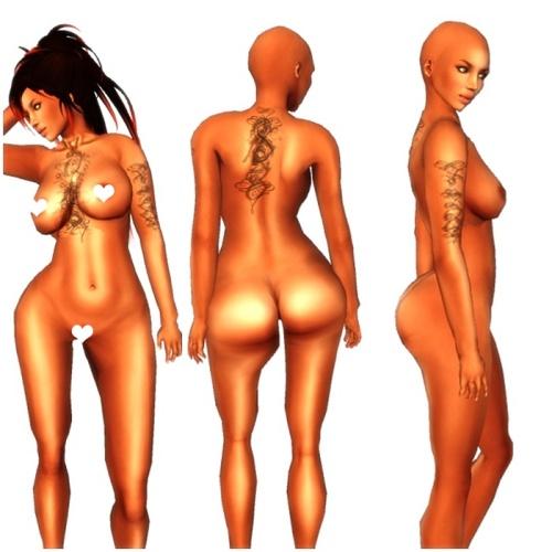 VC - Lulu Gothic Queen - Fullavatar - complete Avatar3