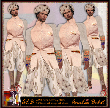 ALB AMIT outfit included shoes by AnaLee Balut