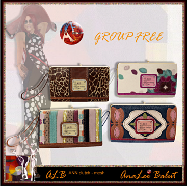 ALB ANN clutch - purse by AnaLee Balut