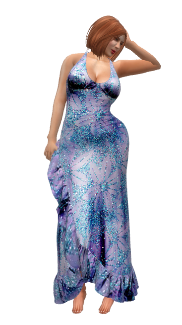 TD - sl frees&offers GG - Lushena Mesh Gown Model 2