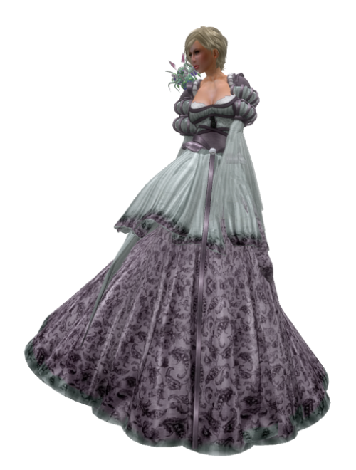TWA - Queen Antoinette Gown Set-GG 17. July 2016