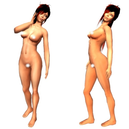 VC - Female MESH Avatar with HUD - Fullavatar - complete Avatar1