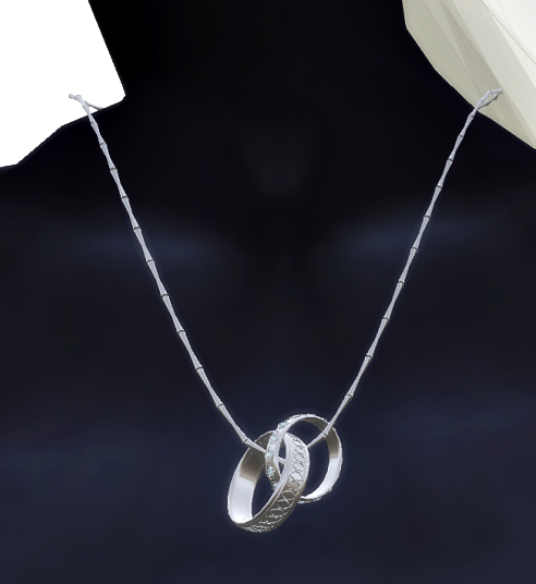 VC- Wedding Necklace silver - Fensalir male+woman
