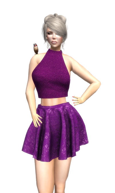 VIntage Touch - slfrees&offers - NYC Violette Outfit GG July 2016