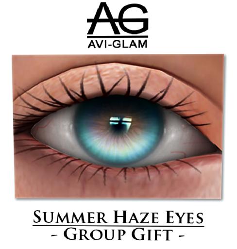 AG. Summer Haze Eyes - June Gift