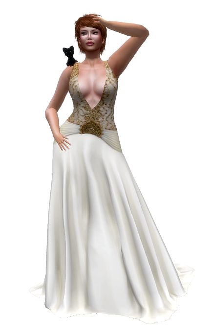 Glam Dreams - Alfonsina Gown   GG August 2016
