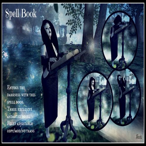 Jinx Spell Book - Poster