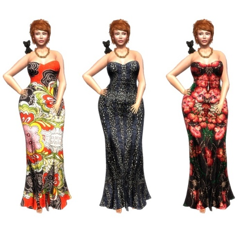 LEGENDAIRE AMITA MAXI DRESS