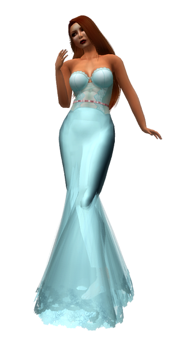 ~TD~ Samsa Gown with Appliers Sky