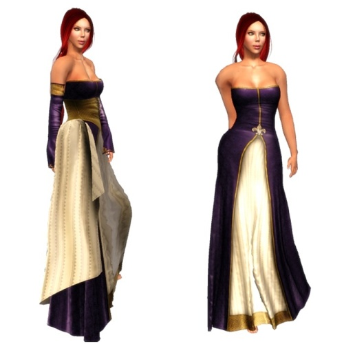 TWA-Esgaroth Mesh Gown Set-Lady Elanor GG 07. August 2016