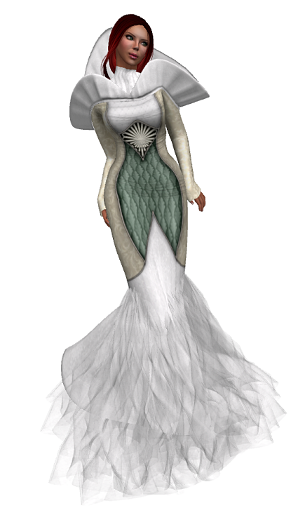 TWA- Queen of High Fells Gown GG 28.August 2016 + 50 Linden SALE