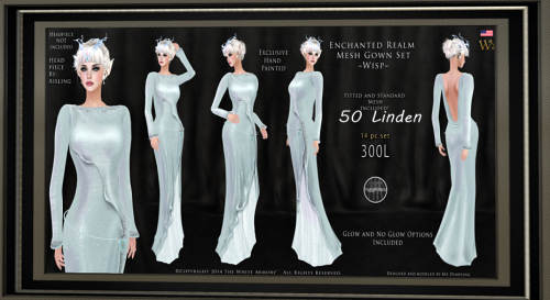 TWA- Queen of High Fells Gown GG 28.August 2016 + 50 Linden SALE4