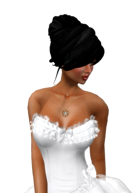VC - Ballerina WHITE Fullavatar - complete Avatar with VC - jewelery