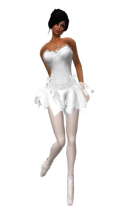 VC - Ballerina WHITE Fullavatar - complete Avatar with VC - jewelery2