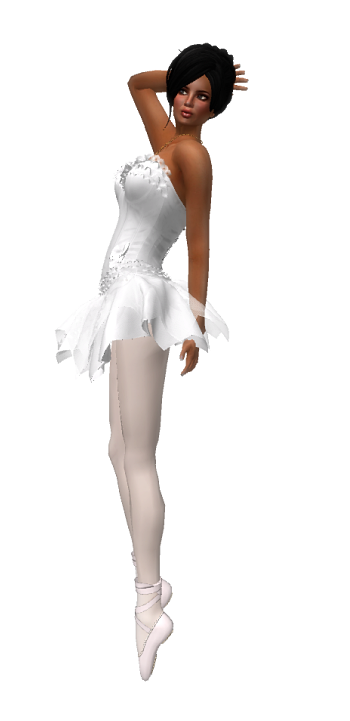 VC - Ballerina WHITE Fullavatar - complete Avatar with VC - jewelery4
