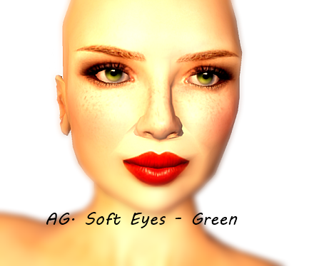 AG. Soft Eyes - Green (Cosmo 4th Anniversary Gift)