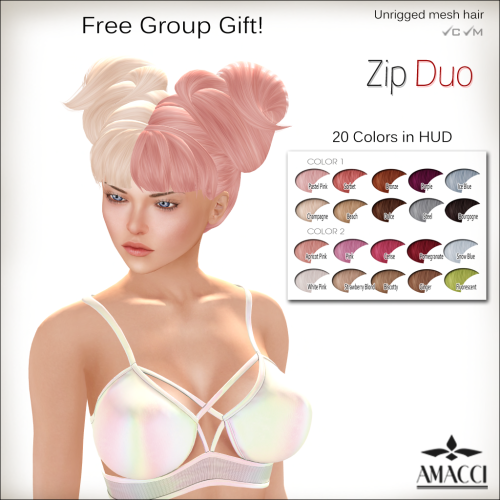 amacci-hair-zip-duo-group-gift