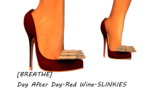 [BREATHE]-Day After Day-Red Wine-SLINKIES