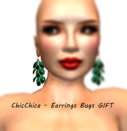 ChicChica - Earrings Bugs GIFT