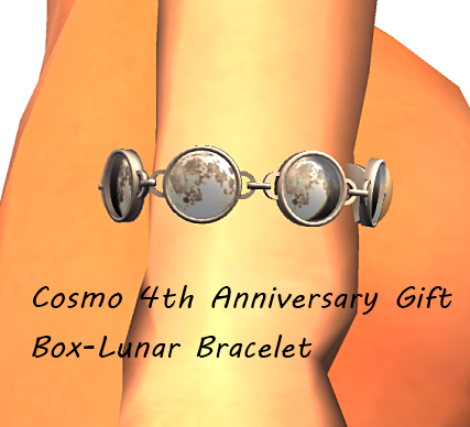 Cosmo 4th Anniversary Gift Box-Lunar Bracelet