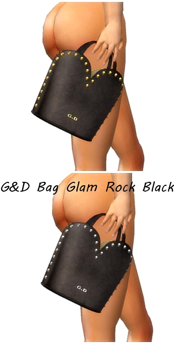 G&D Bag Glam Rock Black Cosmo