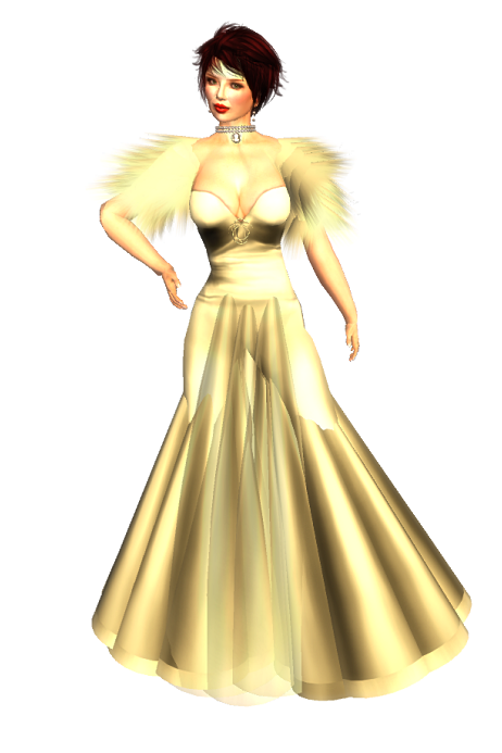 QQ Fashion - Aphrodite Light Gold - Titanic Gift
