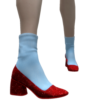 coco-redglittershoes-groupgift