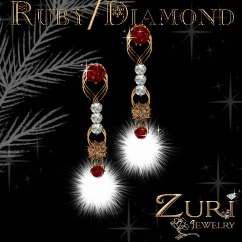holiday_cheer_earring_ruby_diamond