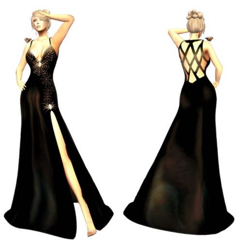 td-halloween-mesh-dress-women