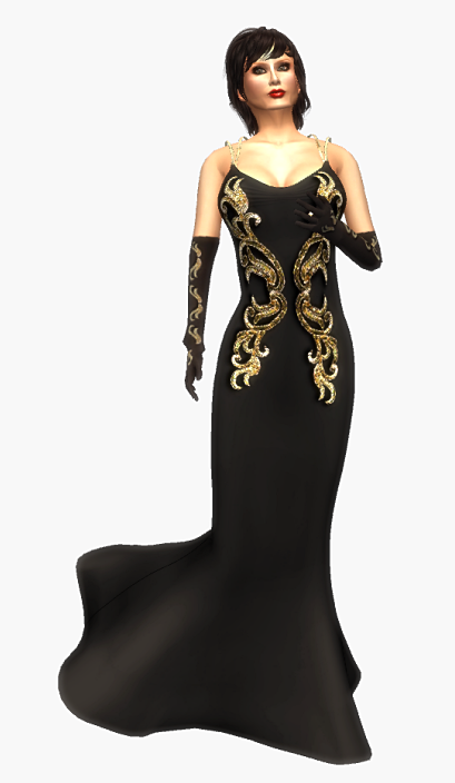 braham-design-loren-blackgold-gown-long-dress-gloves-mesh-gg-december-2016