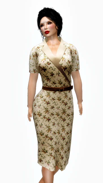 eloise-baker-casual-day-dress-beige-floral-freebie