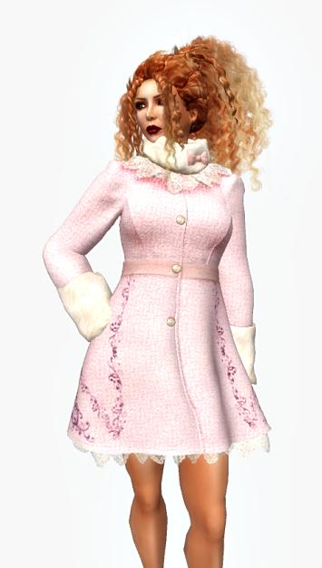 td-naty-mesh-winter-coat-pink